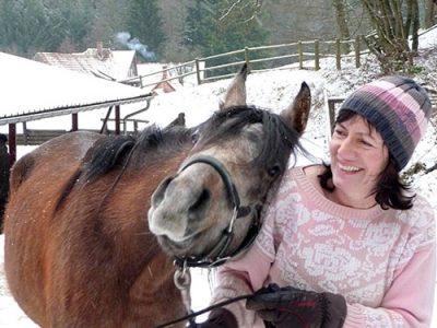 Gastgeberin mit Herzblut: Gaby Reiser